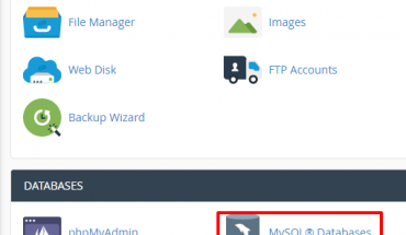 create-mysql-database-in-cpanel