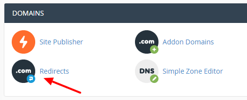 how-to-make-a-specific-web-page-redirect-to-another-page-in-cpanel